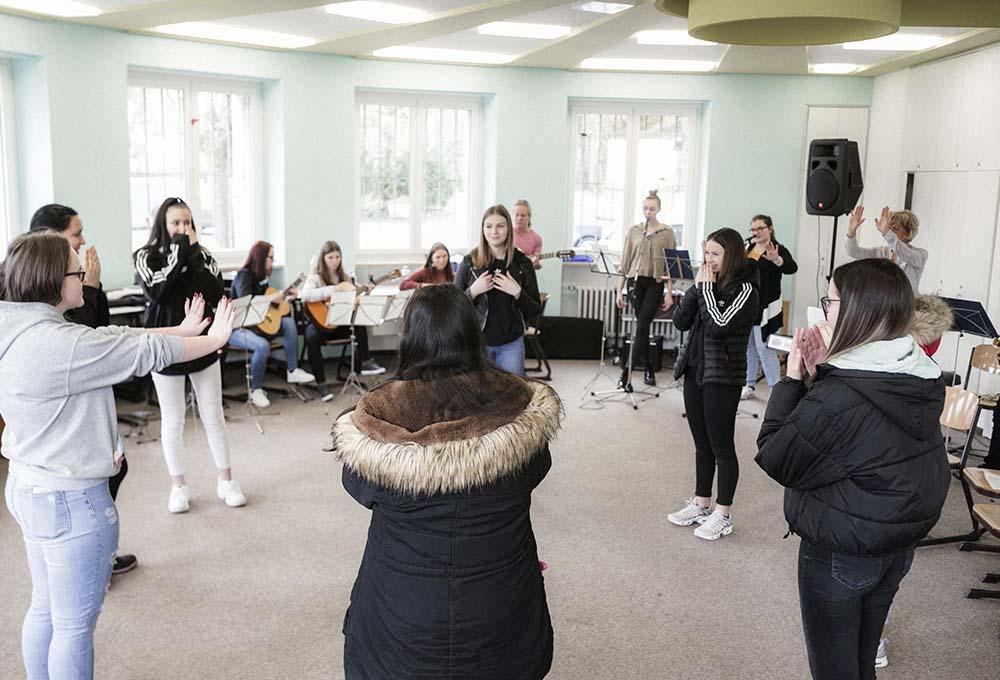 Musikerziehung Berufsfachschule für Kinderpflege